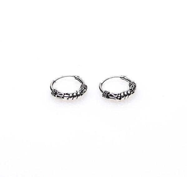 oorbellen zilver ringetjes