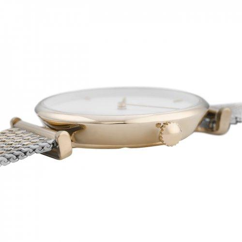 Cluse-Triomphe-horloge-goud-zilver-bagheera-zwolle-sieraden-bicolour-mesh
