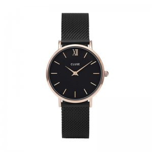 MINUIT MESH ROSE GOLD BLACK/BLACK