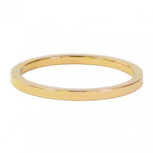 CHARMINS | GOUD/STALEN SMALLE BASIS RING