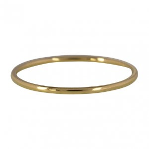 CHARMINS | GOUD/STALEN EXTRA SMALLE BASIS RING