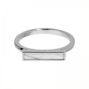 CLUSE | IDYLLE SILVER MARBLE BAR RING