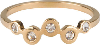 charmins-goud-staal-cz-bubbels-ring
