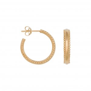 dots hoops goud