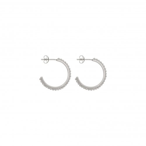 small dots hoops