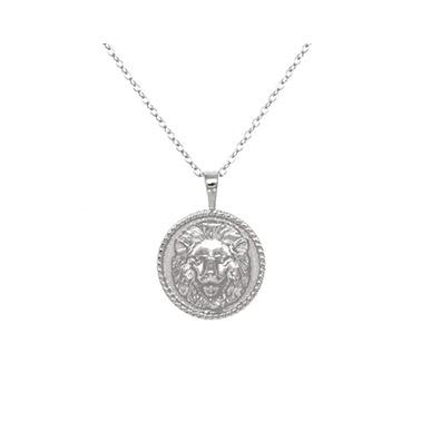 Lion-necklace-silver-